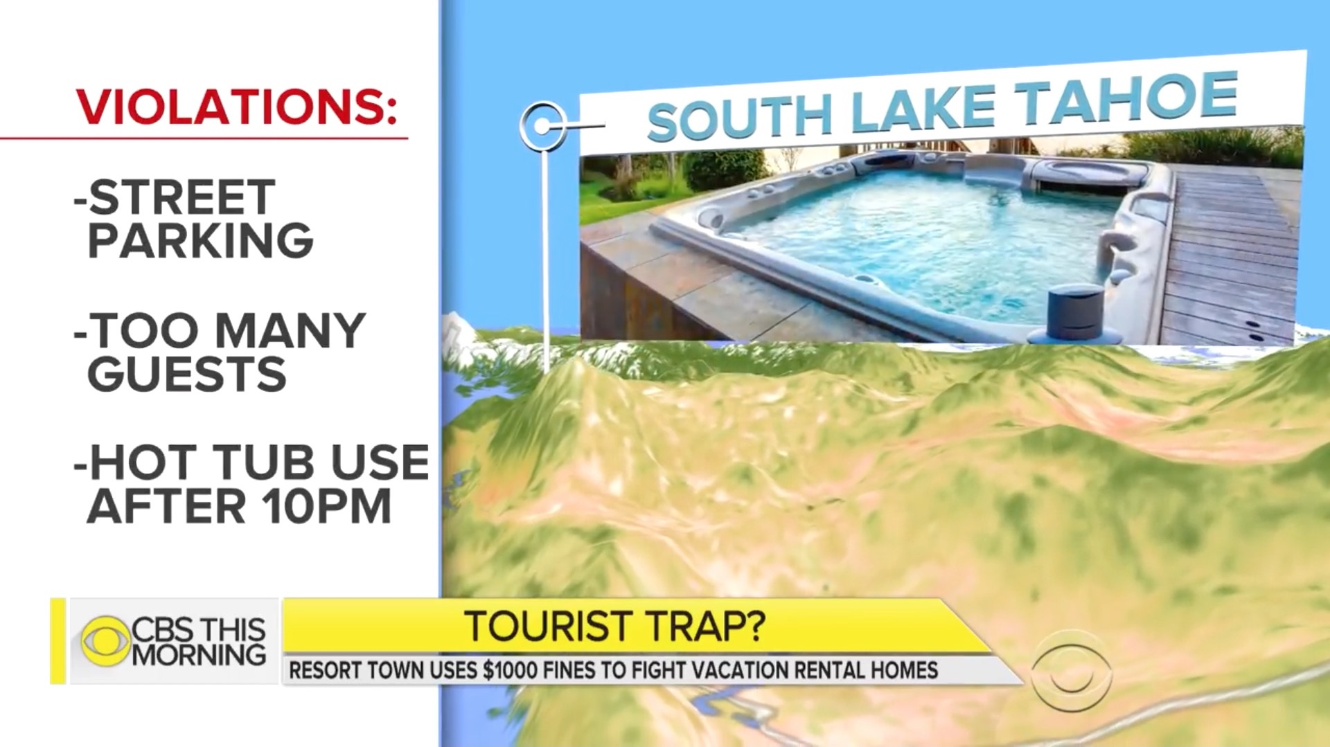 South Lake Tahoe visitors may be fined up to $1,000 for noise and